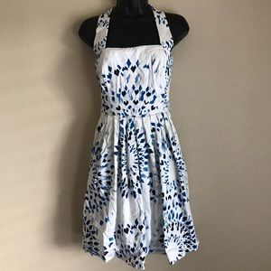 Size 4/Small WH|BM Fit and Flare Pin Up Dress